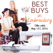 Best Buys in Embroidery